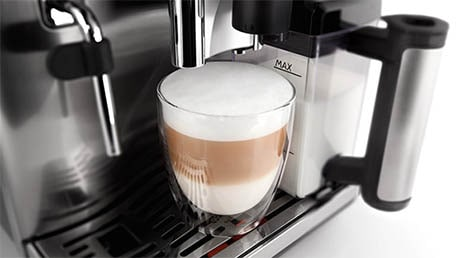 Saecos patenterade Latte Perfetto-teknik introducerades under 2012