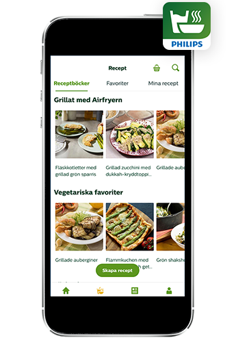 Philips NutriU recept-app