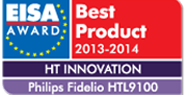 Award for Fidelio wireless surround sound speakers bild