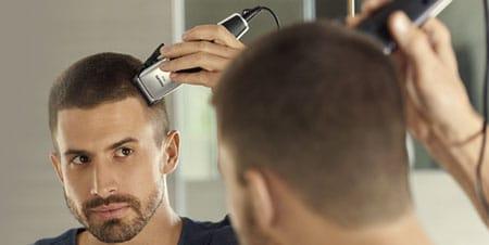 trimma håret själv