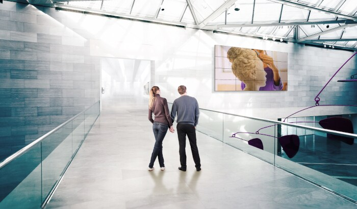 digital signage for public venues