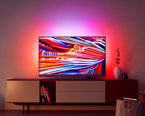 Upplev Philips Ambilight-TV