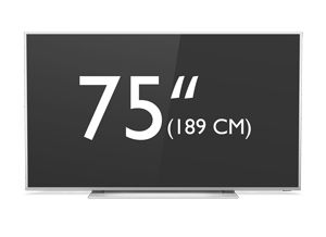 75 tums Philips 4K UHD LED Android TV i Performance-serien
